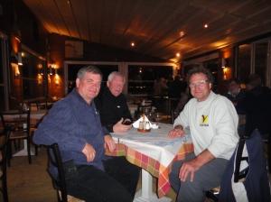 Serge, Svein et Daniel