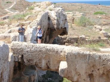 Paphos site archéologique