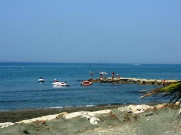 Bordure de mer à Limassol