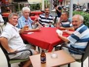Amis turcs au restaurant d'Erkan Mis