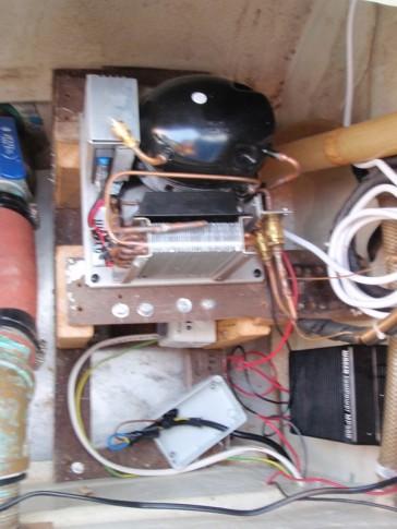 Installation pour le nouveau frigo